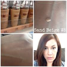 loreal true match lumi warm sand beige w5