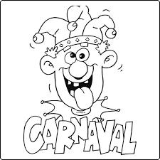 Carnaval Kleurplaat 2018