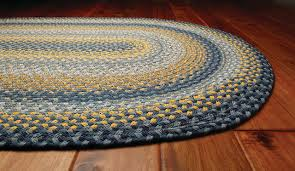 homespice sunflowers braided rug farmhouse area rugs by super area rugs