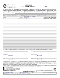 Residential Lease Agreements Gorgeous Adm 44 Addendum No 44 4442