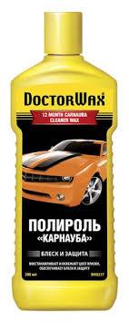 <b>Полироль</b>-<b>очиститель Doctor Wax Карнауба</b> 300мл купить с ...