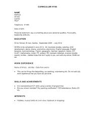 good resume for no job experience cipanewsletter how to make tickets for an event how to write a resume no