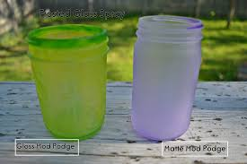 matte mod podge and school glue with frosted glass spray sea glass spray paint and gloss mod podge with frosted glass spray