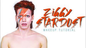 david bowie ziggy stardust aladdin sane makeup tutorial