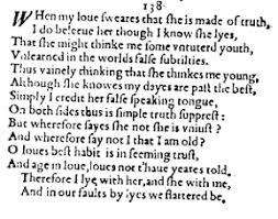 sonnet essays on shakespeare s sonnets shakespeare sonnet 138