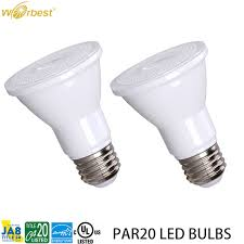 Worbest UL Energy Star dimmable PAR20 <b>Led bulbs 5W 7W</b>