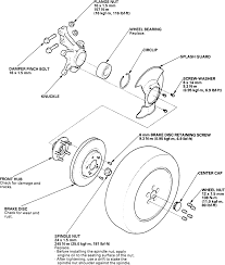11 exploded view of the knuckle and related ponents v6 odyssey shown