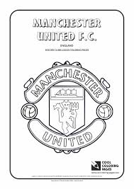 Small Picture Cool Coloring Pages Soccer Club Logos Manchester United FC