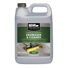 behr premium 1 gal concrete and masonry cleaner and de