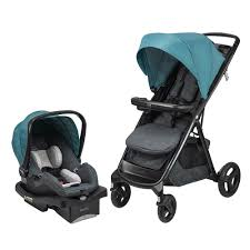 strollers with car seat  cute interior and evenflo vive travel