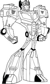 Transformers Coloring Pages Bumblebee Free Transformers Coloring