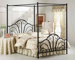 Wonderful Iron Canopy Bed Frame and Unique Iron Canopy Bed Ideas ...