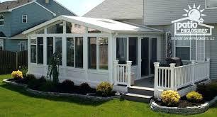 patio patio room kit sun rooms three season screen picture images kits