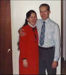 """Norma Richter with her """"husband"""". Norma's husband was her teacher ..."""