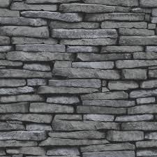 black and white brick wallpaper