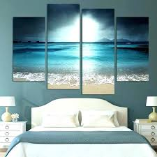 beach themed art prints ocean wl framed home decor wall artwork interesting paintings theme canvas a beach themed canvas pictures wall art