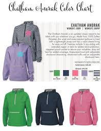 Charles River Windbreaker Size Chart Charles River Appararel Chatham Anorak Pullover Monogrammed Monogram Personalized Quarter Zip Fully Lined Windproof Waterproof