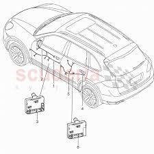 wiring harnesses control units doors for porsche cayenne 2011 enlarge diagram · Â