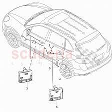 porsche cayenne 2005 wiring diagram wiring diagram enlarge diagram wiring harnesses control units doors for porsche