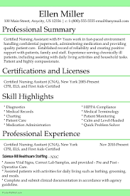 CNA Resume Template PosterMyWall Mesmerizing Cna Resume Summary