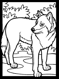 Small Picture Prairie animals wolf coloring book pages Little House on the
