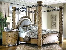 Poster Canopy Bedroom Sets King Size Poster Bed King Size Canopy Poster  Bedroom Sets .