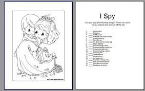 Activity Book Pic Heavy Wedding Coloring Page Bebo Pandco