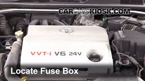 replace a fuse toyota camry toyota camry se l v
