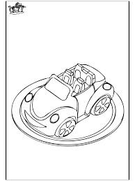Auto Taart Kleurplaat De Bakker