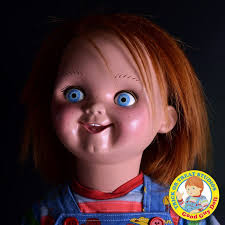 life size chucky doll childs play 2 prop replica 1 1 good guys doll 89 cm chucky