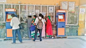 How To Use Ticket Vending Machine In Railway Station Classy Chennai Vending Machines Fail To Decongest Rly Ticket Counters