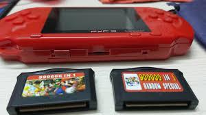 Máy chơi game cầm tay PSP 3 - kèm 2 băng game - hỗ trợ AV - Máy chơi Game  khác Thương hiệu OEM