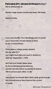 february 21 whose birthday today poem by michael shepherd poem