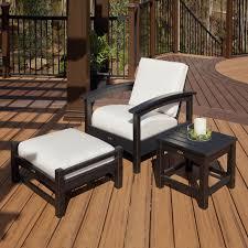 polyethylene furniture. trex patio furniture resin polyethylene