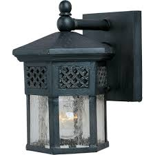 maxim lighting scottsdale 1 light country forge outdoor wall mount