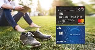 citi diamond preferred vs citi simplicity which is best creditcards