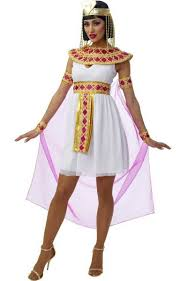 Delightful Womenu0027s Deluxe Cleopatra Fancy Dress Costume Front View