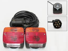 Tractor Supply Magnetic Trailer Lights Rear Magnetic Trailer Lights With 12m Cable Tractor Light Board Trailer Towing Lamp