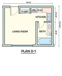 Apartment 14 Studio Apartments Plans Inside Small 1 Bedroom .