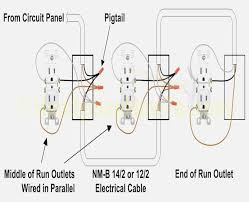 duplex receptacle wiring diagram dolgular com how to wire a double outlet at the end of a run at Socket Outlet Wiring Diagram