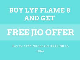 Lyf Flame 8 Jio Offer Price Starting at ...