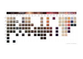 Igora Colour Chart Igora Royal Product Range Color Chart In 2019 Schwarzkopf
