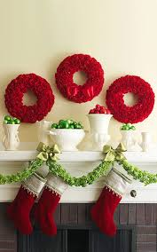 Christmas Decorations For The Wall Christmas Decorating Ideas For A Bedroom Modern Christmas Master