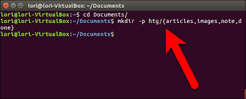 How To Create A Directory How To Create Multiple Subdirectories With One Linux Command