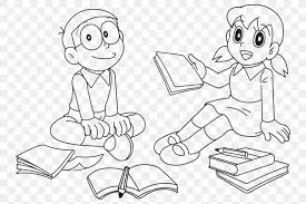 Doraemon et nobita, les protagonistes. Coloring Book For Kids Doraemon