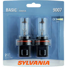 whiter light xenon fueled hid attitude sylvania 9007 silverstar sylvania 9007 basic headlight bulb