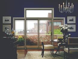 sliding patio doors use less space than french patio doors