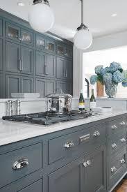 Gray Blue Kitchen Cabinets Best Mattress Kitchen Ideas
