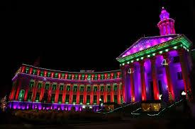 Downtown Denver Lights Photos Grand Illumination Lights Up Downtown Denver With