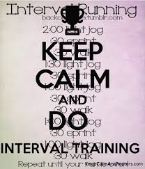 Keep Calm And Do Interval Training Keep Calm And Posters